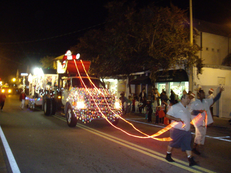 Key West Christmas Parade – sincere & dinky – Bunny Island Key West